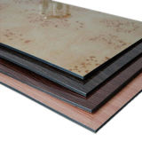Dekoration materielle PET Beschichtung-zusammengesetztes Zeichen-Panel Acm AluminiumaCP