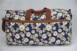 Canvas van de Druk van de manier het Kleurrijke Dame Travel Duffel Bags