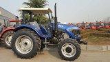 最新の中国90HP 4の車輪駆動機構Map904の農場トラクター