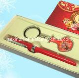 De Vastgestelde Doos van de Gift van Keychain en van de Pen