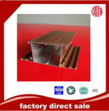Profil en bois des graines de l'extrusion 6063 T5 en aluminium
