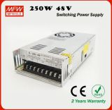 Sample libero Single Output Type Power Supply 48V 250W 5A LED Driver con CE & RoHS