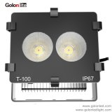 La Chine 5 ans de garantie d'usine 110lm/W citoyen COB étroit ra80 60 30 15 Degré 100W Projecteur à LED