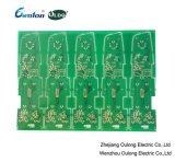ENIG الذهب الأخضر قناع PCB مزدوجة من جانب