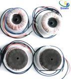 高性能のミニチュア円環形状の変圧器