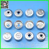 20mm silberne Farben-Aluminium-Schutzkappen
