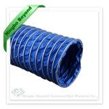 Condotto rivestito flessibile a prova di fuoco della tela di canapa del PVC per il condizionatore d'aria