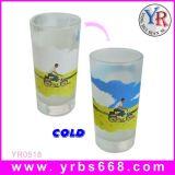 Cambio de Color de alta calidad taza taza de vidrio de vidrio