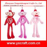 Jour de Valentine de sac de sucrerie de singe de cadeau de la décoration de Valentine (ZY13L928-1-2-3)