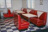 il commensale di stile degli anni 50 ha personalizzato l'insieme della mobilia del ristorante