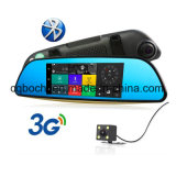 Venta caliente 6.86 pulgadas navegador portátil Espejo retrovisor con 3G