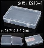 Квадратная коробка пластичного случая пластичная
