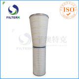 De Filter van de Opname van de lucht in de Turbine die van het Gas wordt gebruikt