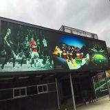 屋外P8フルカラーの広告のLED表示かビデオスクリーン
