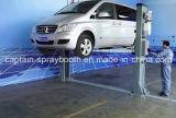 Подъем автомобиля ручного отпуска 2-Post сторон двойника