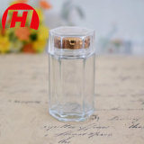 Cápsula de vidro de transparências pílula do vaso de garrafas