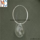 小型の高温水晶ガラスのるつぼ