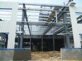 Стальная конструкция рамы склада проекта