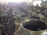 Altos capa del acero de manganeso y cóncavo