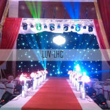 LED Star Cloth LED Star Curtain für Wedding