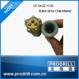 Tapered 20mm-50mm Rock Drilling Bits für Quarry