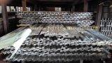 Extrusion de l'aluminium 6063 pour des profils de construction