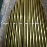 """2-1/2 """" X1.2mm Seamless Brass Round Tube für Heating"""