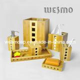 Conjunto de baño de bambú de dos tonos (WBB0611A)