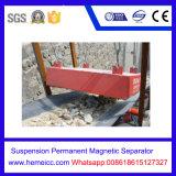 Séparateur magnétique permanent de suspension manuelle de nettoyage de Rcyb