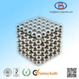 Silberner Überzug-/Beschichtung-Kugel-Magnet