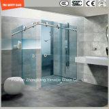 調節可能なステンレス鋼フレーム及び簡単なシャワー室、シャワー機構、シャワーの小屋、浴室、シャワー・カーテンを滑らせるアルミニウムフレーム6-12の緩和されたガラス