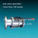 플랜지가 붙은 3PC Ball Valve CF8m 1000wog DIN 3202-F1 Flanged Ball Valve Pn40