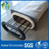 Sacchetti filtro non tessuti della polvere di Nomex del feltro dell'ago