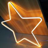 L'acrilico elettronico esterno LED segna il segno con lettere al neon su ordine decorativo