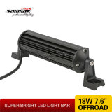 "Barra chiara del chip 3W LED del CREE dell'alloggiamento di alluminio nero 8 "" mini"