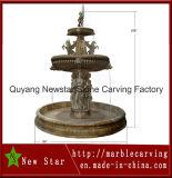 Fontane di scultura di pietra del cioccolato dell'acqua per la decorazione (NS-230)