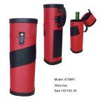 Caja de almacenaje roja y negra del vino (4706R1)