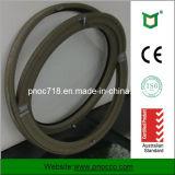 Het CirkelVenster van het aluminium met Dubbel Glas Pnoccuw0039