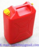 Канистра для Бензина 20л Пластик / Красная Топливная Канистра