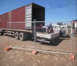 Clôture provisoire de l'Australie galvanisée par As4687-2007 pour des chantiers de construction