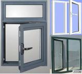 フランス様式の中国の卸し売りハリケーンの影響Windows Windowsおよびドアの熱壊れ目のアルミニウム開き窓のWindows (ACW-018)