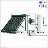 쪼개지는 압력을 가한 태양 온수기를 설치하는 방법