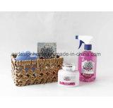 Il regalo popolare dello spruzzo della stanza dei sali di bagno di migliori prezzi ha impostato in cestino tessuto