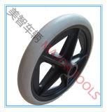 Umweltfreundlicher flacher freier PU-Schaumgummi-elektrisches Rollstuhl-Rad
