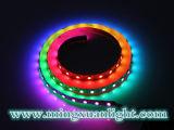 Striscia impermeabile flessibile esterna dell'indicatore luminoso di RGB LED di alta qualità