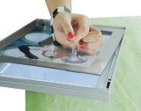 印のアクリルの表示細い磁気ライトボックスを広告するLED