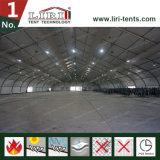 Tentes en aluminium d'événement de revêtement en PVC De bâti de grand toit extérieur de courbe pour la Foire et l'exposition
