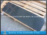 Losas grises oscuras baratas del granito de G654 Padang para pavimentar los azulejos