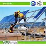 Il sistema al suolo di energia solare del legame di griglia del montaggio 15kw 15 chilowatt si dirige la centrale elettrica