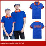 Modèle fait sur commande de chemise de polo, modèles colorés de chemise de polo (P57)